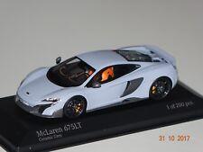 McLaren 575 LT Coupe ceramic grau 1:43 Minichamps neu & OVP 537154420