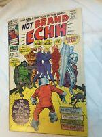 Not Brand Echh 1 Marvel Comics 1st Forbush Man 1st Marvel Parody Book 1967