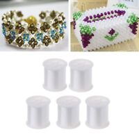 5 Rolls Transparent Nylon Clear Sewing Thread For Clothing Diy Jewelry Beading