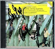 HAGEN QUARTETT Signed LIGETI LUTOSLAWSKI String Quartet SCHNITTKE Stravinsky CD