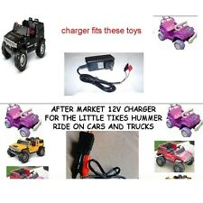 12V Clip Charger for LITTLE TIKES HUMMER H2 TRUCKS AND CARS
