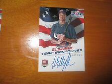 WILL BENSON Indians 2015 Panini USA Baseball 18U Team AUTO Autograph #/499 QTY