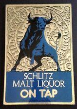 Schlitz Malt Liquor Vintage 1974 Beer Mirrors - NOS - Man Cave Bar LAST ONE!