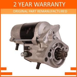 Starter Motor fits FREELANDER 2.0 DIESEL Mk1 M47 2000-2006 2.0kW NAD101140