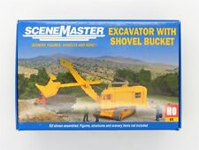 Cable Excavator w/ Shovel Bucket HO Kit - Walthers SceneMaster #949-11001 vmf121