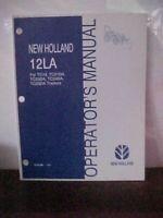 OM New Holland 12LA for TC18,21DA,23DA,24DA & TC26DA Tractors Issue 6-05  (1A)