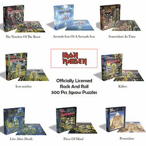 New Officially Licensed Iron Maiden Album Covers 500PCS Jigsaw Puzzles