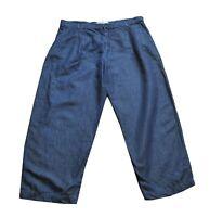 ** Max Mara ** Denim / Blue Jeans ** Weekend ** UK 16 ** Cotton & Linen **