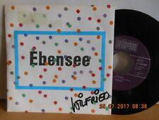 """7"""" AUSTRIA Rarität 1990 ! WILFRIED ( SCHEUTZ ) - Ebensee / Sehr gut"""