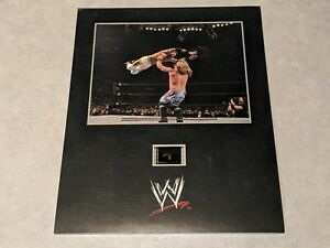 WWE WRESTLEMANIA XX 20 Official Film Cell Frame Senitype Christian/Chris Jericho
