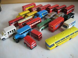 CORGI MATCHBOX MAJORETTE BUS JOB LOT X 23