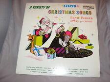 ERNIE BERGEROrgan & Chimes A VARIETY OF CHRISMAS SONGS vinyl LP KING Stereo