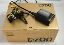 Nikon MH-18a Quick Charger, Battery, Nikon D700 Camera Strap and Box