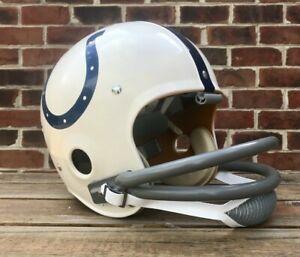Vintage Kra-Lite TK2 Football Helmet 1973 Baltimore Colts Lenny Moore