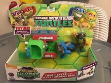 Teenage Mutant Ninja Turtles Half-Shell Heroes Tread Cycle with Raph Damaged Box