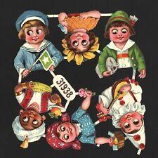 antiker Oblatenbogen Kinder Kewpie L&B 31938