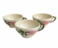 Vintage Franciscan Desert Rose Tea Cup Made In California USA Set of 3 #2