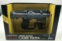 1983 Kenner Star Wars BIKER SCOUT LASER PISTOL Accessory - Return of the Jedi