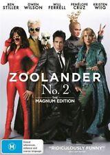 Zoolander No. 2 BEN STILLER WILL FERRELL 2016 GENUINE R4 DVD NEW & SEALED