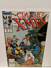 Classic X-Men #20 April 1988 Marvel Comics