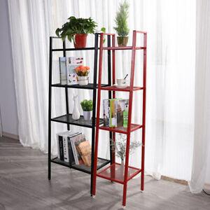150cm Ladder Industrial Bookshelf Corner Bookcase Shelving Flower Display Rack