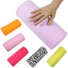 Women Cushion Hand Rest Pillow Nail Art Design Manicure Care Salon Soft Column