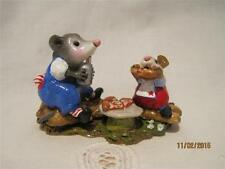 Wee Forest Folk Possum's Pizza Party Store Special - Limited Edition in WFF Box