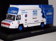 Ixo 1/43 Camion Berliet Stradair Matra Simca Team Gitanes 1974 Neuf Boite TRU022