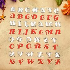 Decor Cutting Dies Embossing Card English Alphabet Letter Scrapbooking Stencil