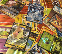 Pokemon 100 Card Lot - 15+ Holos - Ultra Rare (EX/GX/V/Vmax) - Ships Same Day