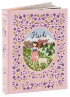 Heidi - by Johanna Spyri   Leather-bound Hardcover- NEW