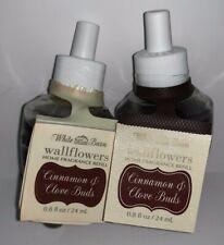 2 Bath & Body Works Wallflowers Home Fragrance CINNAMON & CLOVE BUDS Refill