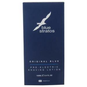 Blue Stratos Original Blue Pre-Electric Shaving Lotion 100ml