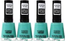 4 Revlon Premium Scented Perfume Nail Enamel Polish Mint Gelato Green Color