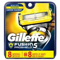 Gillette Fusion ProShield Men's Razor Blade Refills, 8 Count, Mens Razors