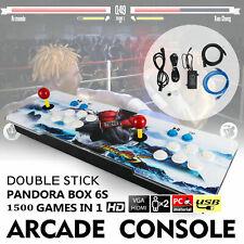 1500 in 1 Pandora Box 6S Retro Video Games Arcade Console Double Sticks Hdmi Usb