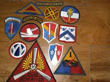 New listing '40s-60s Army Military Patch lot