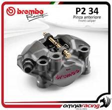 étrier radiaux Moto3 Brembo monoblocs CNC P2 34 emp 60mm SX pistons titane