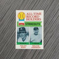 1979 Topps #417 Nolan Ryan/Walter Johnson | PSA Worthy: MINT