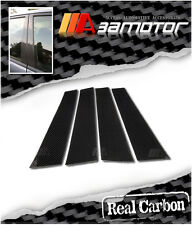 REAL CARBON FIBER PILLAR PANEL DECAL COVERS for MERCEDES W245 2005-2011 B-CLASS