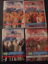 22131 // FEMMES DE FOOTBALLEURS SAISON 1 A 4 EN 4 COFFRET 10 DVD NEUF