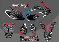 KIT ADESIVI GRAFICHE MONSTA HM CRE 50 2011 2012 2013 2014 2015 2016 DECALS DEKOR