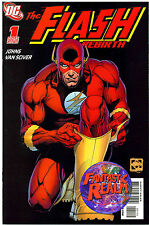 THE FLASH REBIRTH ISSUE #1 GEOFF JOHNS ETHAN VAN SCIVER COVER DC COMICS