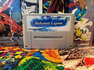 Bahamut Lagoon Nintendo Super Famicom SFC Authentic Tested Clean Works
