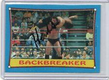 HERCULES 1987 TOPPS AUTOGRAPH CARD HAND SIGNED SUPER RARE! WWF SUPERSTAR
