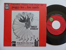 BO Film OST Sweet charity PEGGY LEE LOU RAWLS 2C006 28394 FRANCE Discotheque RTL