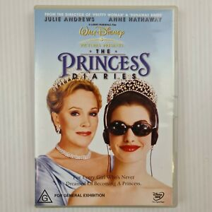The Princess Diaries DVD - Julie Andrews, Anne Hathaway - Region 4 -TRACKED POST