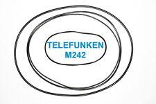 SET CINGHIE TELEFUNKEN M 242 REGISTRATORE A BOBINE BOBINA NUOVE FRESCHE M242