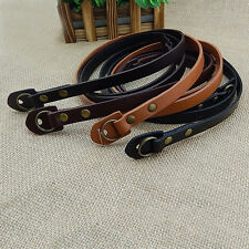 Portable Leather Camera Shoulder Neck Strap for Leica SLR DSLR Mirrorless New.