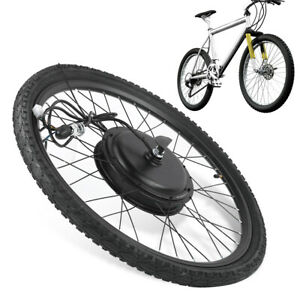 48V 1000W électrique vélo avant roue moteur conversion kit Accessoires